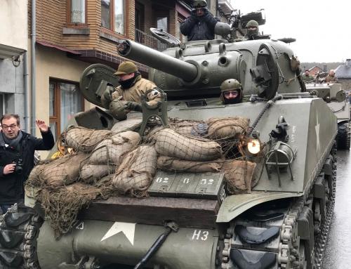 IN PATTON'S TRACKS WITH NATO